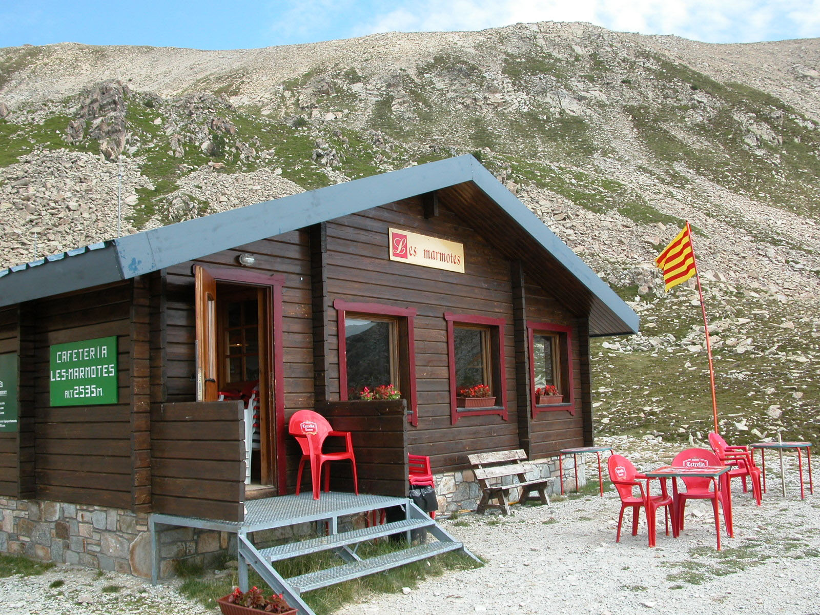 Les Marmotes Cafe